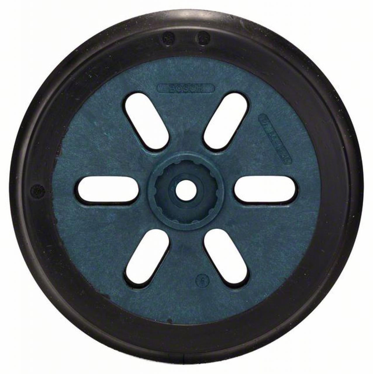 Bosch Polierfilz für Exzenterschleifer Klett hart 2er-Pack 160 mm