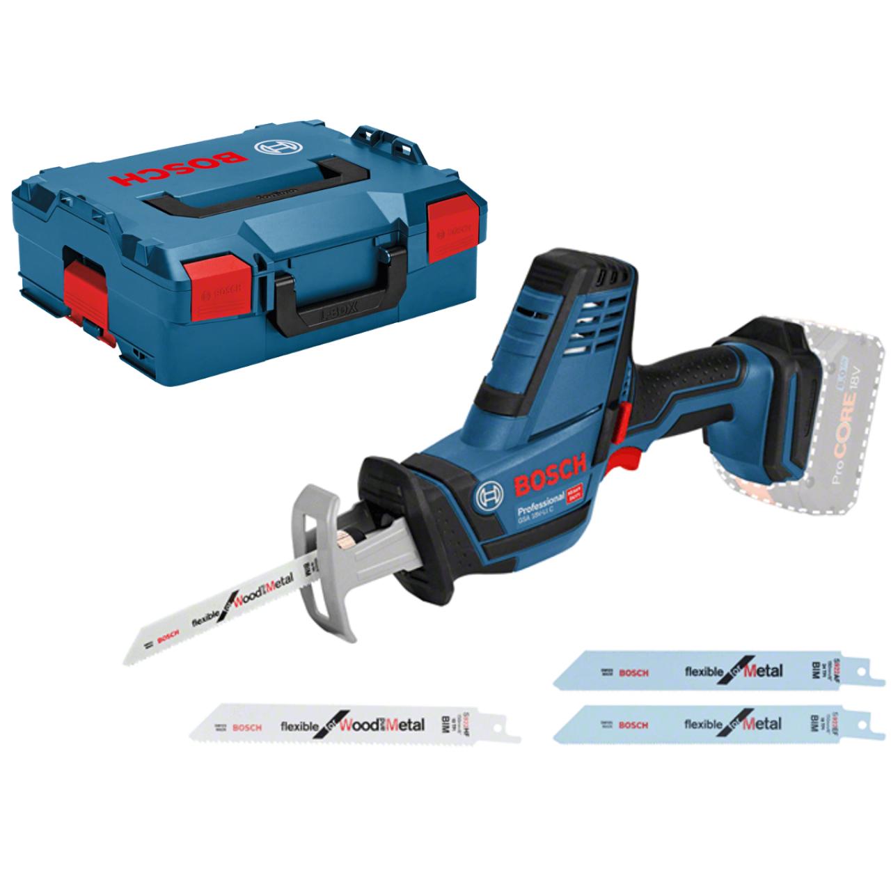 ab3626b92 Akku-Säbelsäge GSA 18 V-LI C, Solo Version, L-BOXX | Sägen | Sägen &  Trennen | 18 Volt System | Bosch | Elektrowerkzeuge | Kategorien | Müller  Professional ...