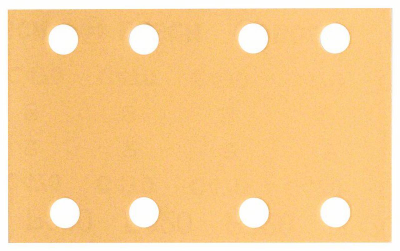 80 x 133 mm 10er-Pack 8 Löcher Klett Bosch Schleifblatt C430 80