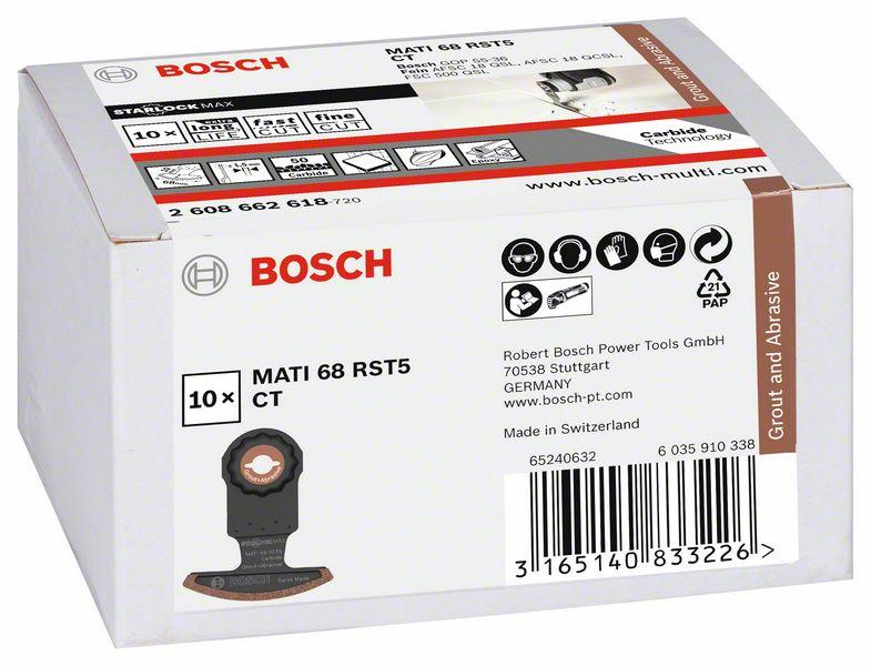 Bosch Carbide RIFF Segmentsägeblatt MATI 68 RST5 Starlock Max 2608662578