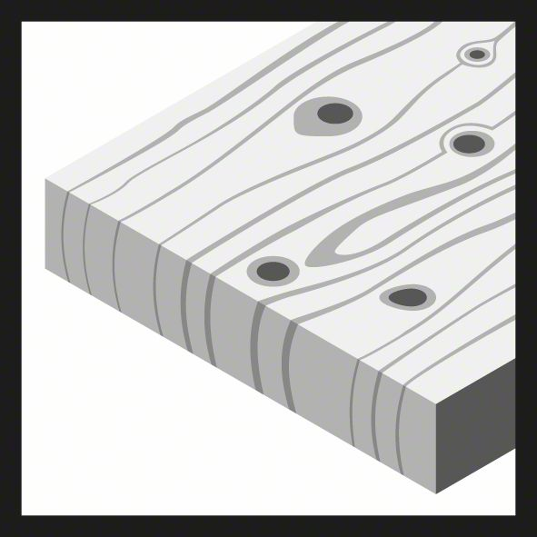 5 x 52 x 86 mm d 5 mm 5x Bosch Holzspiralbohrer Standard